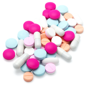 Assortment of migraine medications